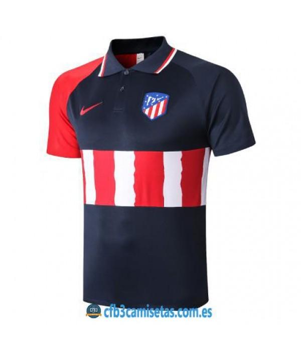 CFB3-Camisetas Polo Atlético Madrid 2020/21