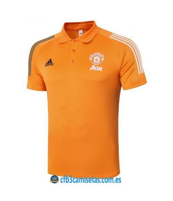 CFB3-Camisetas Polo Manchester United 2020/21