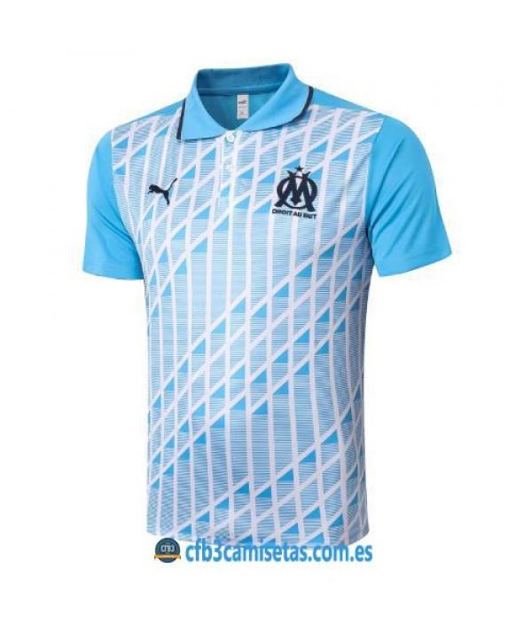 CFB3-Camisetas Polo Olympique Marsella 2020/21 Azul