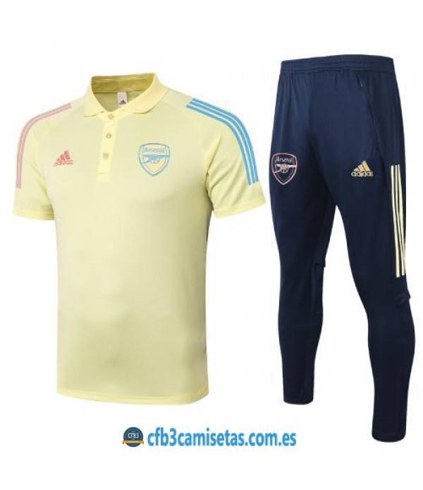 CFB3-Camisetas Polo Pantalones Arsenal 2020/21