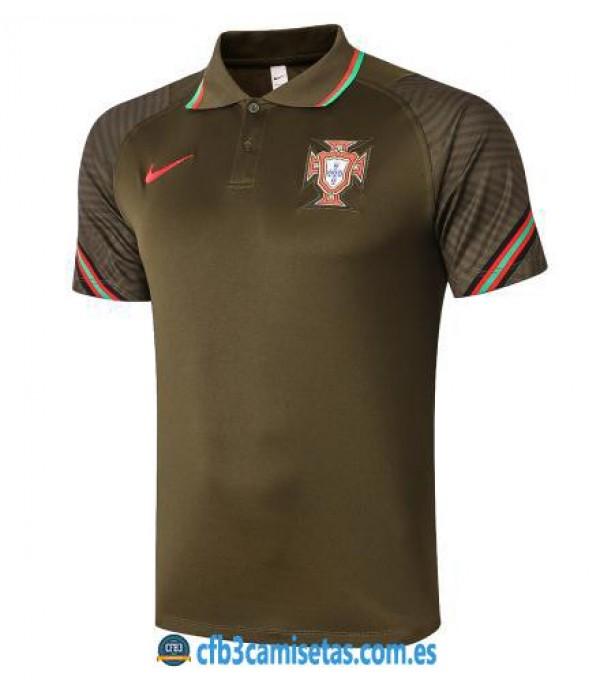 CFB3-Camisetas Polo Portugal 2020/21