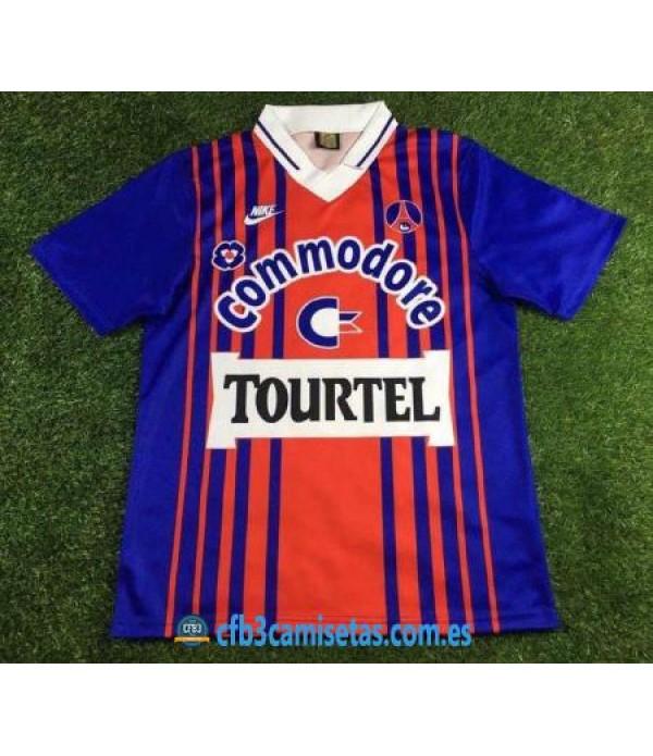 CFB3-Camisetas PSG 1a Equipación 1993-94