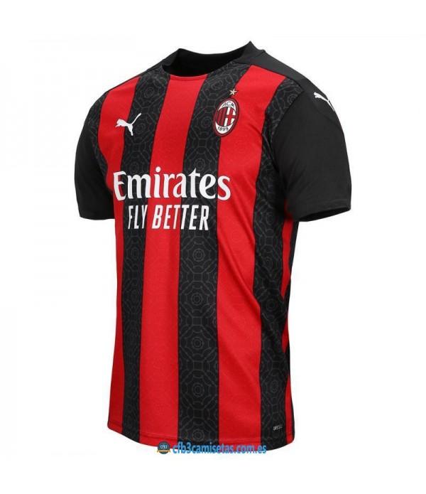 CFB3-Camisetas AC Milan 1a Equipación 2020/21