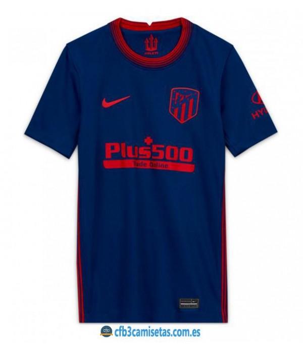 CFB3-Camisetas Atlético Madrid 2a Equipación 2020/21