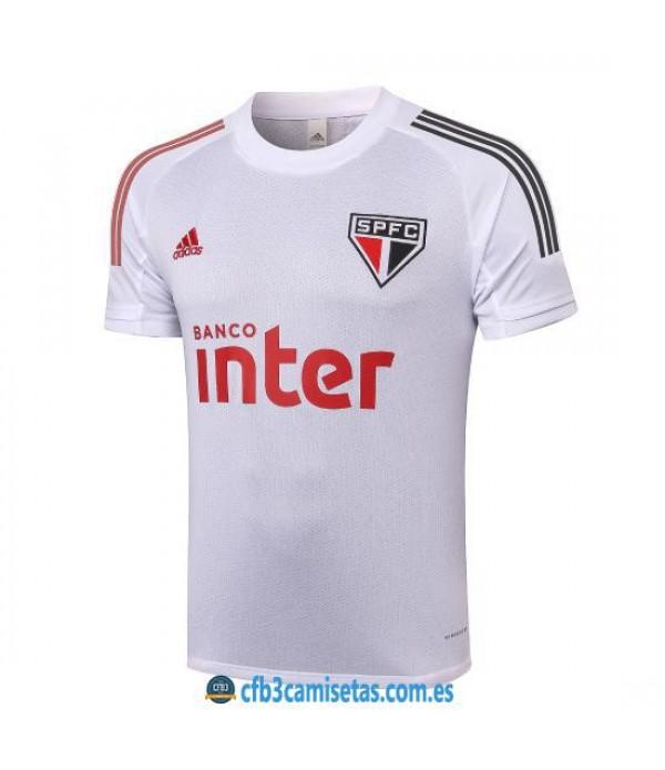 CFB3-Camisetas Camiseta Entrenamiento Sao Paulo 2020/21