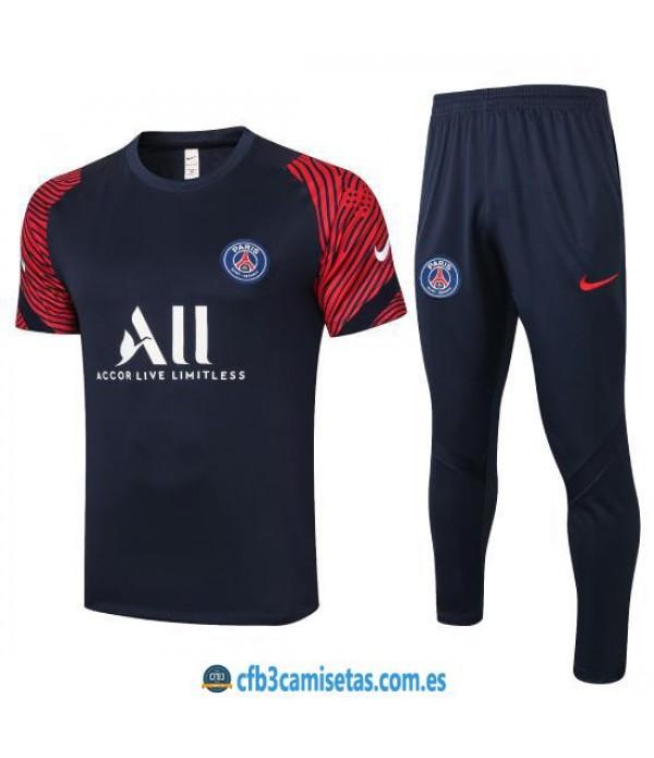 CFB3-Camisetas Camiseta Pantalones PSG 2020/21