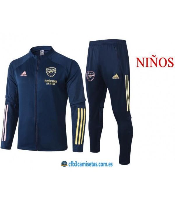 CFB3-Camisetas Chándal Arsenal 2020/21 - NIÑOS