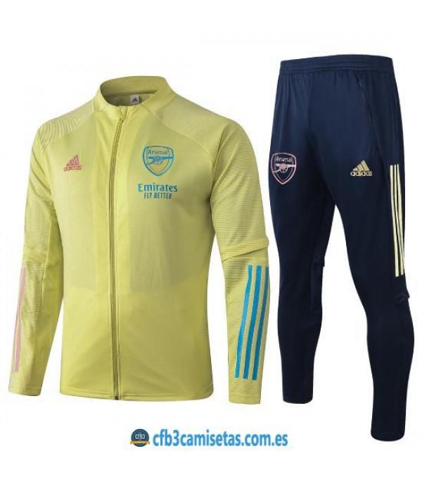 CFB3-Camisetas Chándal Arsenal 2020/21