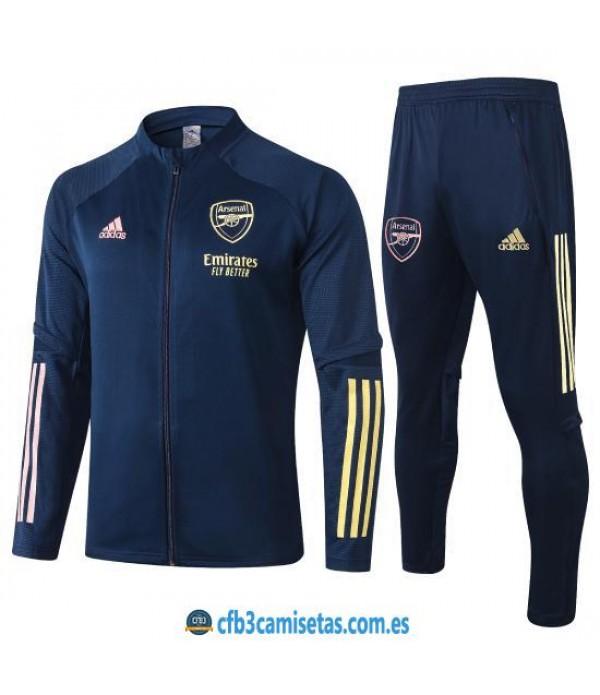 CFB3-Camisetas Chándal Arsenal 2020/21 Negro