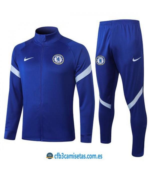 CFB3-Camisetas Chándal Chelsea 2020/21