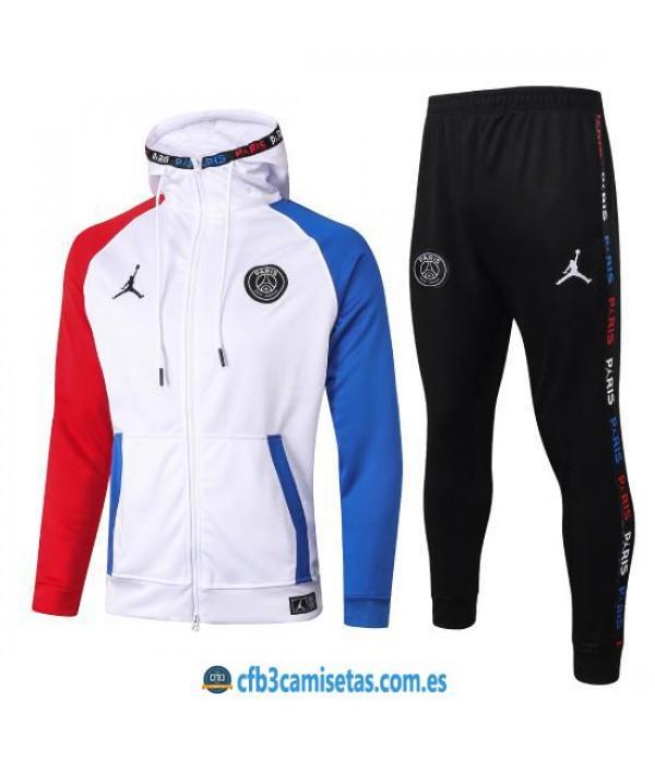 CFB3-Camisetas Chándal PSG x Jordan 2020/21