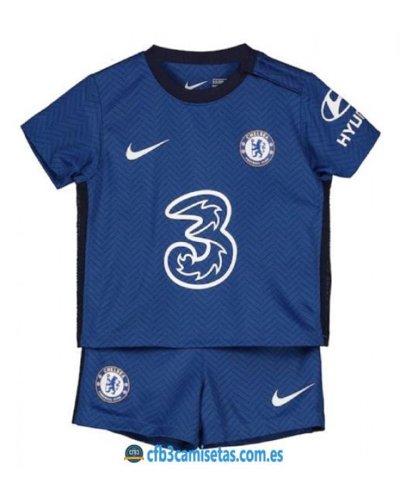 CFB3-Camisetas Chelsea 1a Equipación 2020/21 Kit Junior