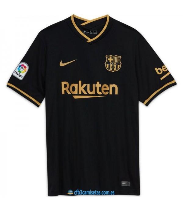 CFB3-Camisetas FC Barcelona 2a Equipación 2020/21