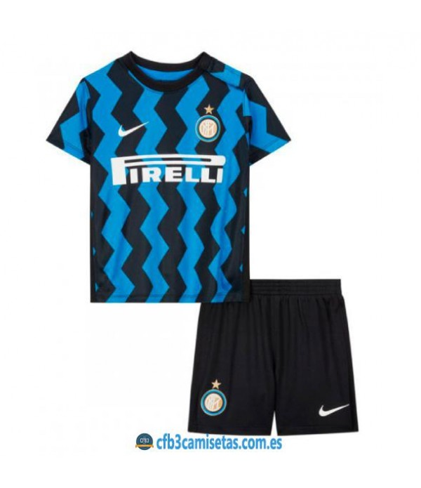 CFB3-Camisetas Inter Milan 1a Equipación 2020/21 Kit Junior