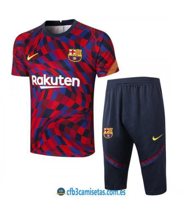CFB3-Camisetas Kit Entrenamiento FC Barcelona 2020/21