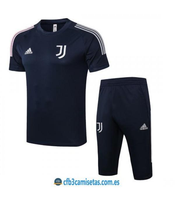CFB3-Camisetas Kit Entrenamiento Juventus 2020/21