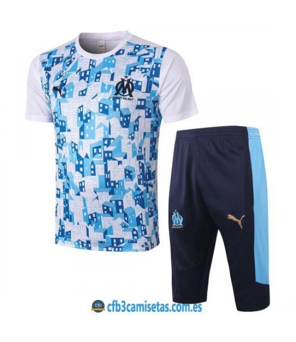 CFB3-Camisetas Kit Entrenamiento Olympique Marsella 2020/21