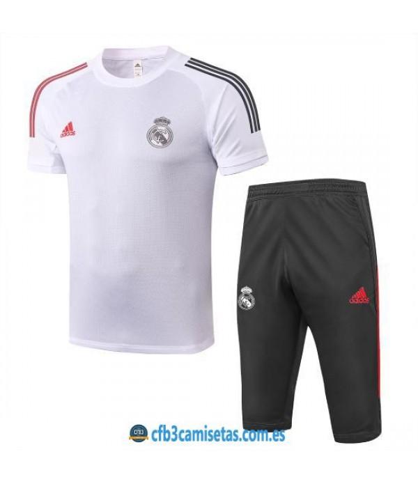 CFB3-Camisetas Kit Entrenamiento Real Madrid 2020/21