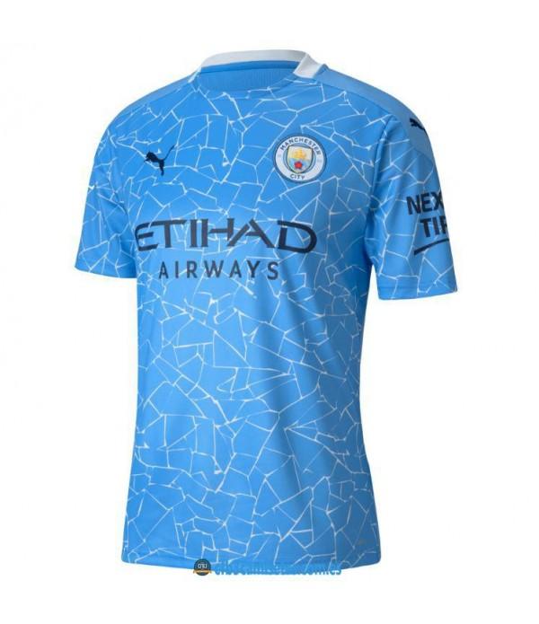 CFB3-Camisetas Manchester City 1a Equipación 2020/21
