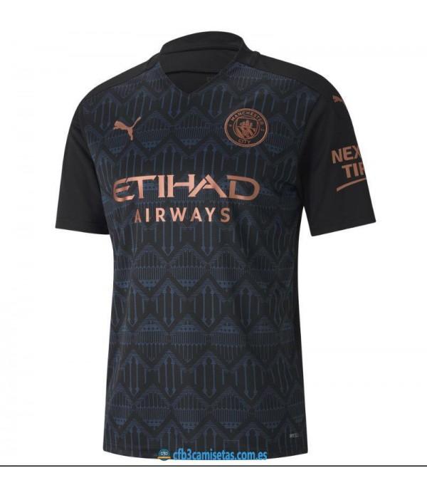CFB3-Camisetas Manchester City 2a Equipación 2020/21