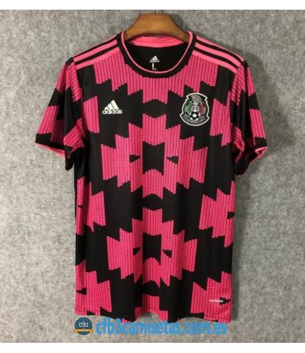 CFB3-Camisetas Mexico 1a Equipacion 2020/21