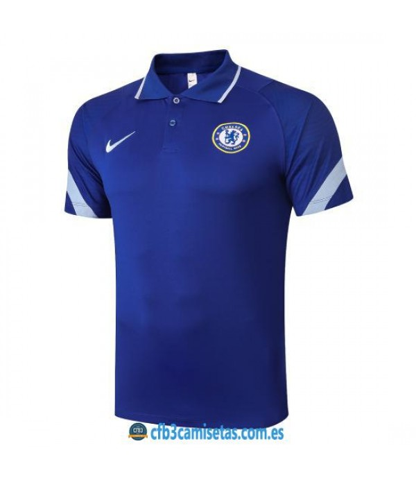 CFB3-Camisetas Polo Chelsea 2020/21