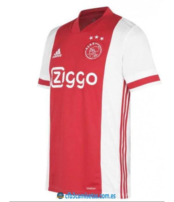 CFB3-Camisetas Ajax 1a Equipación 2020/2021