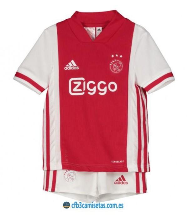 CFB3-Camisetas Ajax Amsterdam 1a Equipación 2020/21 - NIÑOS