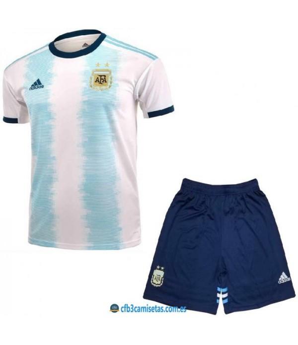 CFB3-Camisetas Argentina 1a equipación 2019/20 - niÑos