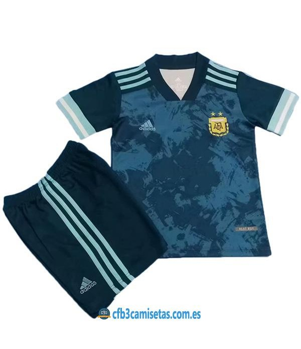 CFB3-Camisetas Argentina 2a equipación 2020/21 - niÑos