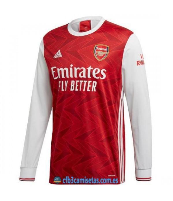 CFB3-Camisetas Arsenal 1a Equipación 2020/21 ML