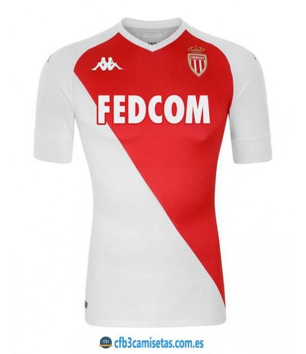 CFB3-Camisetas AS Monaco 1a Equipación 2020/21