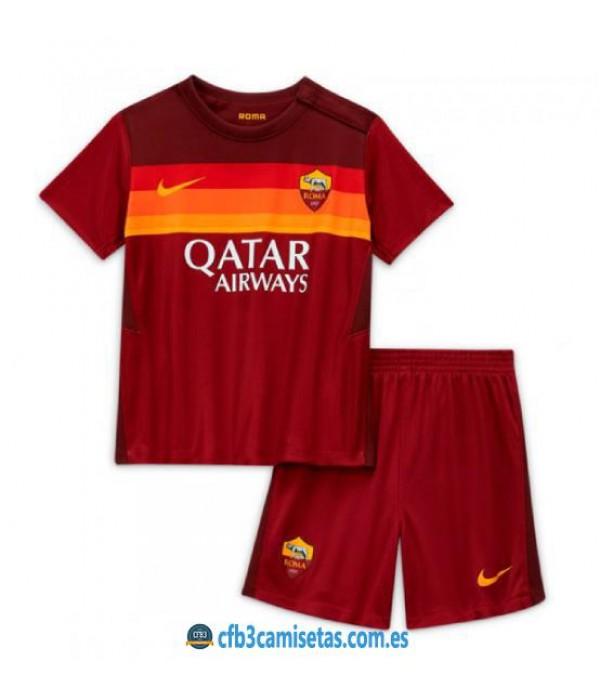 CFB3-Camisetas AS Roma 1a Equipación 2020/21 - NIÑOS