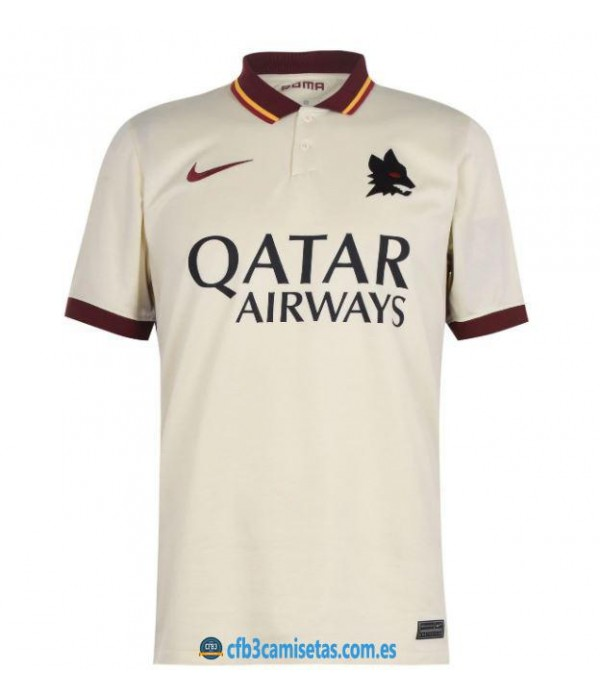 CFB3-Camisetas As roma 2a equipación 2020/21
