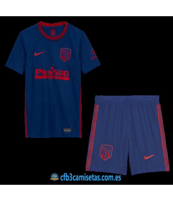 CFB3-Camisetas Atlético Madrid 2a Equipación 2020/21 - NIÑOS