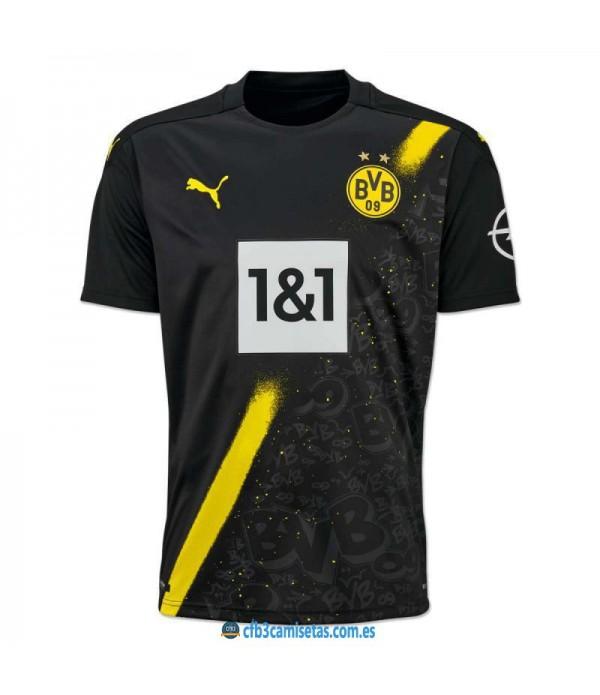 CFB3-Camisetas Borussia dortmund 2a equipación 2020/21
