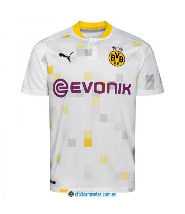 CFB3-Camisetas Borussia Dortmund 3a Equipación 2020/21