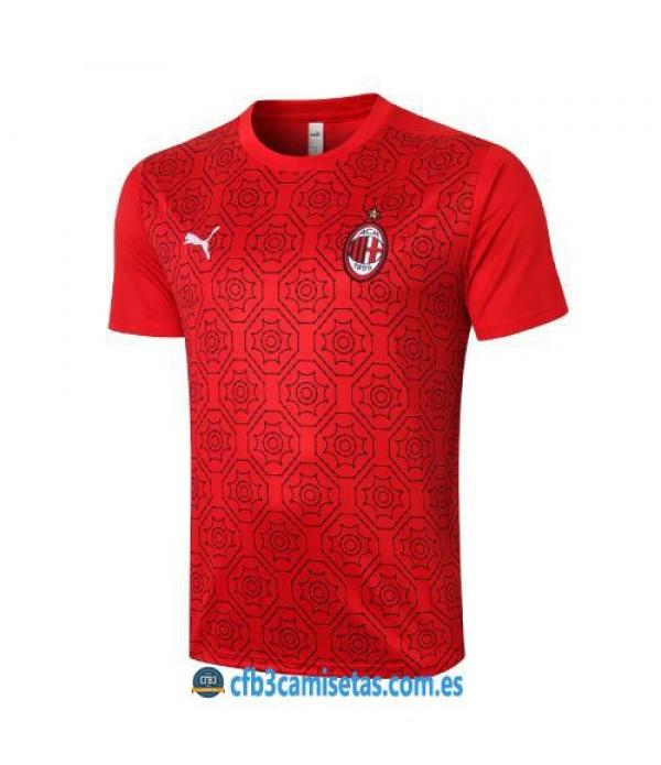 CFB3-Camisetas Camiseta entrenamiento ac milan 2020/21