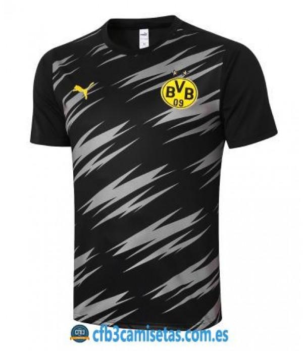 CFB3-Camisetas Camiseta entrenamiento borussia dortmund 2020/21 - negra