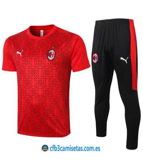 CFB3-Camisetas Camiseta pantalones ac milan 2020/21