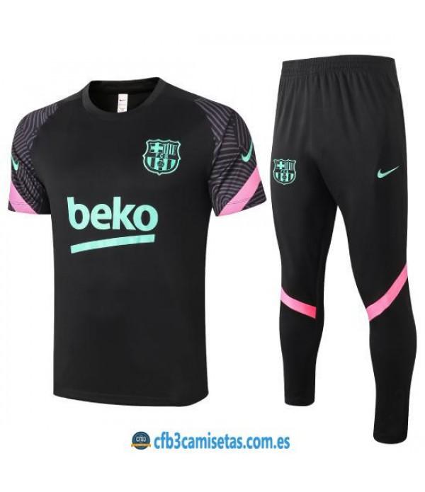 CFB3-Camisetas Camiseta Pantalones FC Barcelona 2020/21
