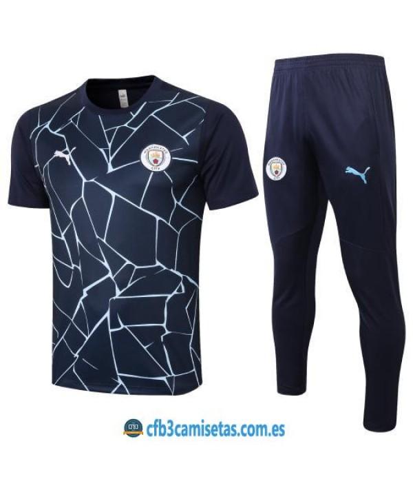 CFB3-Camisetas Camiseta pantalones manchester city 2020/21
