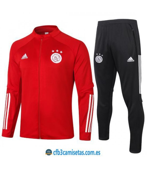 CFB3-Camisetas Chándal ajax 2020/21 - red