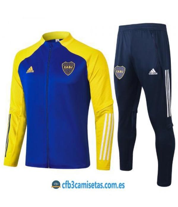 CFB3-Camisetas Chandal Boca Juniors 2020/21 Amarillo