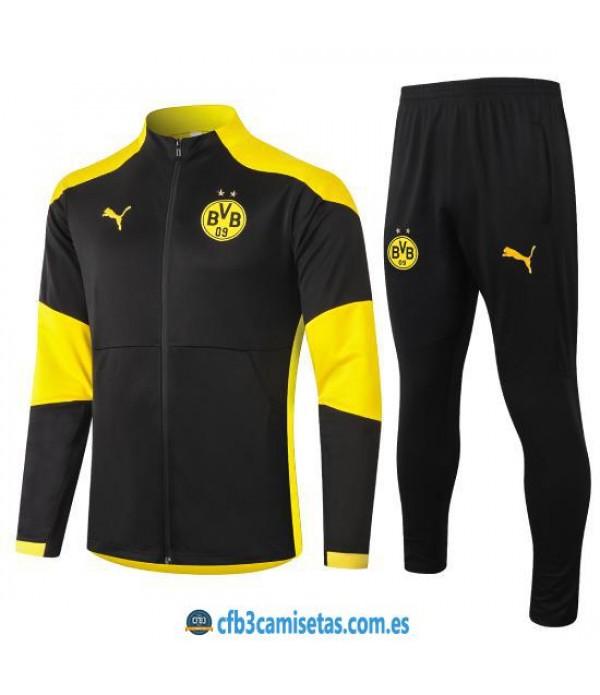 CFB3-Camisetas Chándal Borussia Dortmund 2020/21