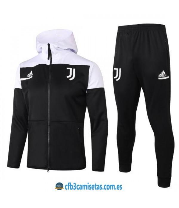 CFB3-Camisetas Chándal Juventus 2020/21 - Capucha