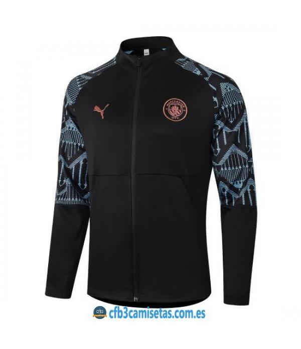 CFB3-Camisetas Chaqueta Manchester City 2020/21