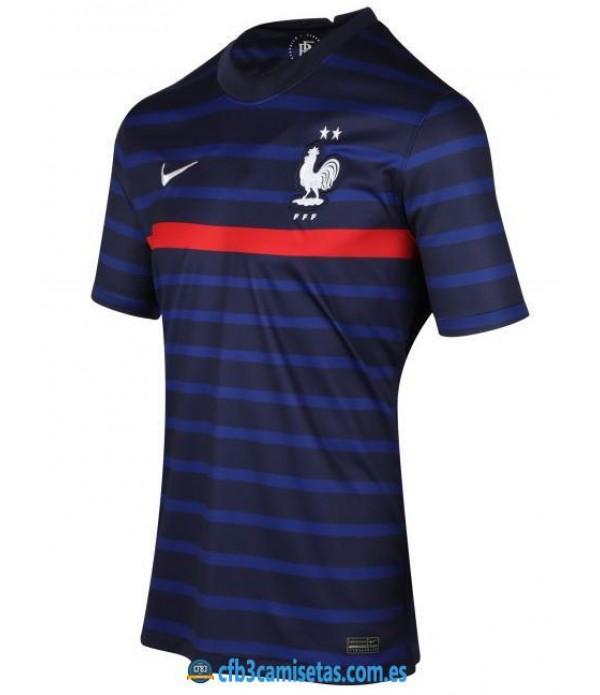 CFB3-Camisetas Francia 1a equipación 2020/21