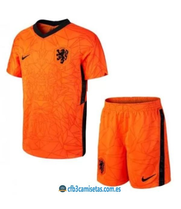CFB3-Camisetas Holanda 1a equipación 2020/21 - niÑos
