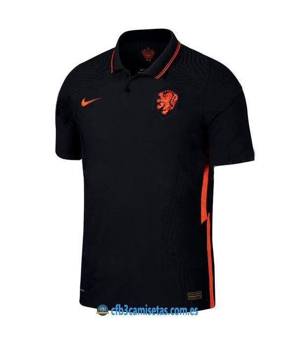 CFB3-Camisetas Holanda 2a equipación 2020